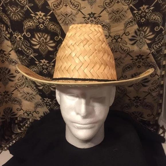 CLASSIC Straw Cowboy Hat  Small Unisex. 945a82b6664